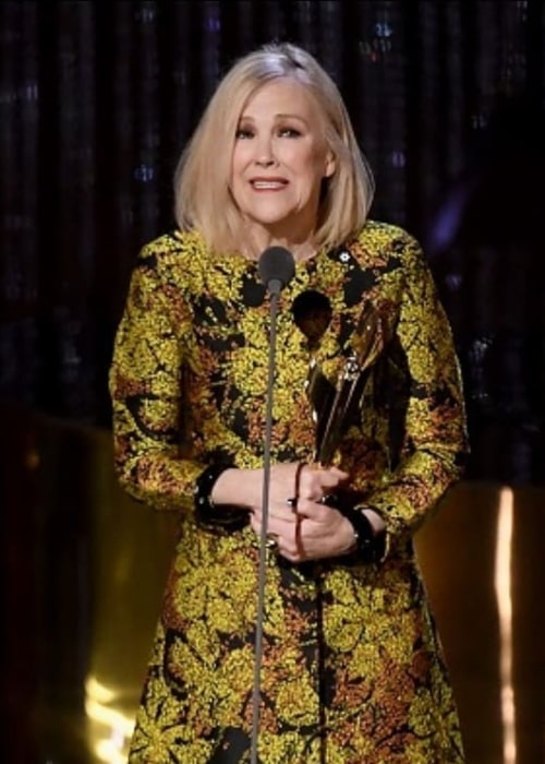 Catherine O'Hara as seen in an Instagram Post in September 2018