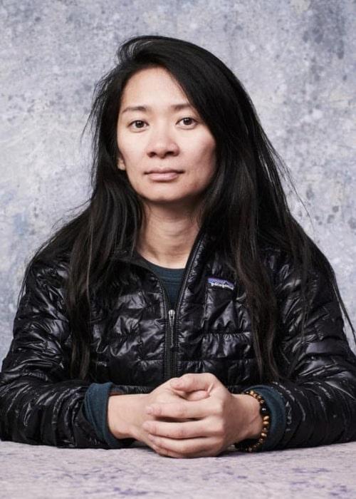Chloé Zhao as seen in an Instagram Post in December 2019