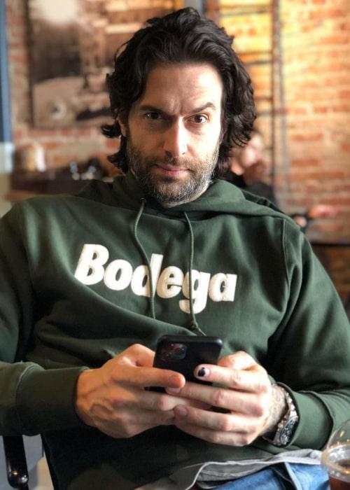 Chris D'Elia as seen in an Instagram Post in January 2020