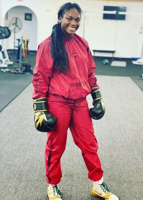Claressa Shields as seen in an Instagram Post in October 2020
