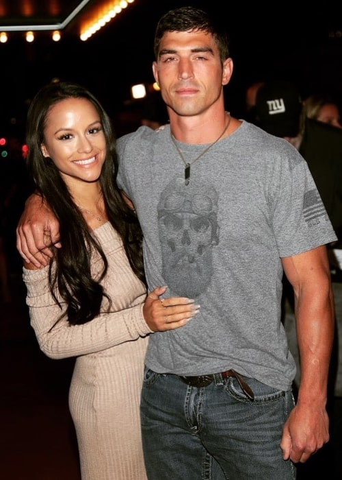 Cody Nickson and Jessica Graf, as seen in October 2020