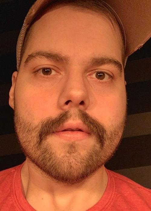 Dakotaz as seen in a selfie that was taken in December 2020