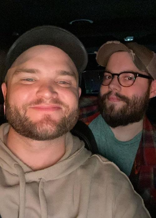 Dakotaz as seen in a selfie that was taken with music artists J.Cyrus in March 2020