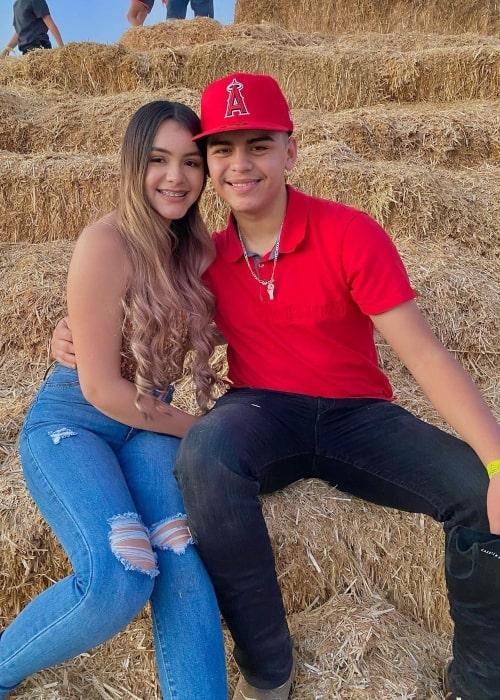 Delayza Naylea as seen in a picture that was taken with her boyfriend Julian Fernandez in Arizona in November 2020