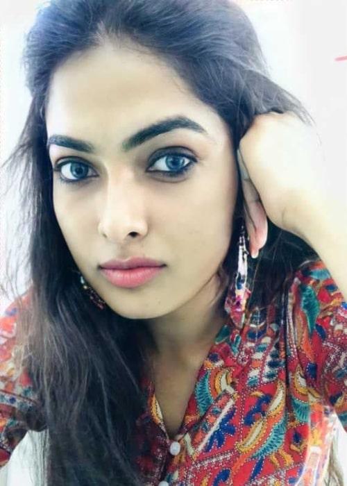 Divi Vadthya as seen in a selfie that was taken in October 2020