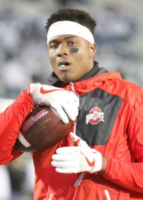 Dwayne Haskins as seen in an Instagram Post in December 2017
