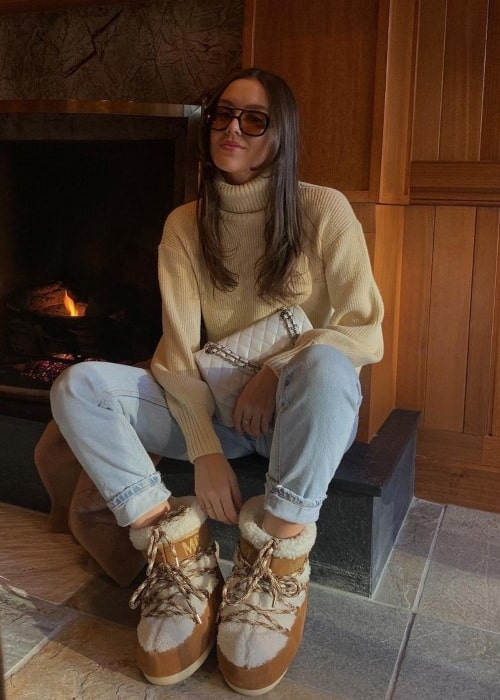 Emma Rose Leger as seen in a picture that was taken in Whistler, Canada in December 2020