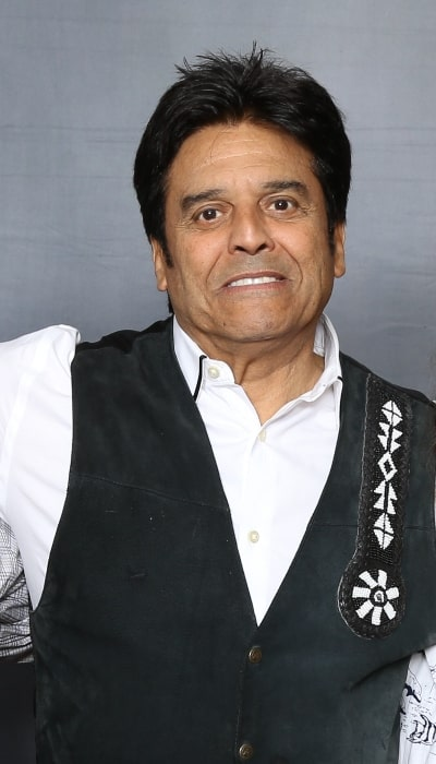 Erik Estrada as seen while posing for a picture at the Paradise City Comic Con in 2018