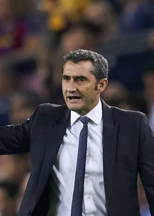 Ernesto Valverde as seen in an Instagram Post in August 2019