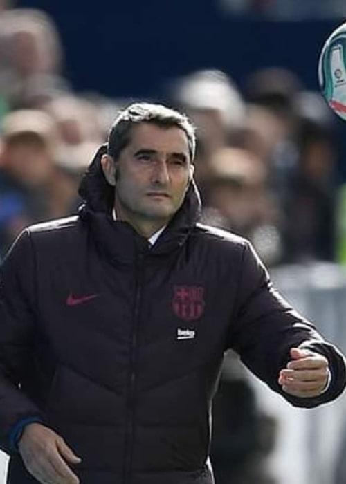 Ernesto Valverde as seen in an Instagram Post in September 2019