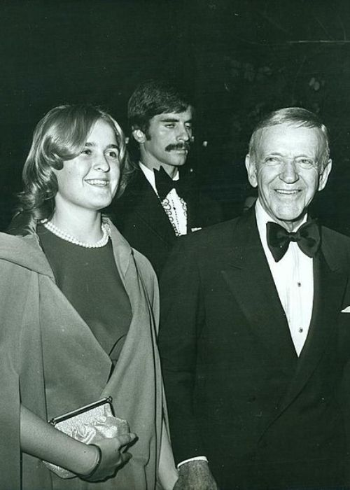 Fred Astaire as seen with his granddaughter Phyliss in the 1970s
