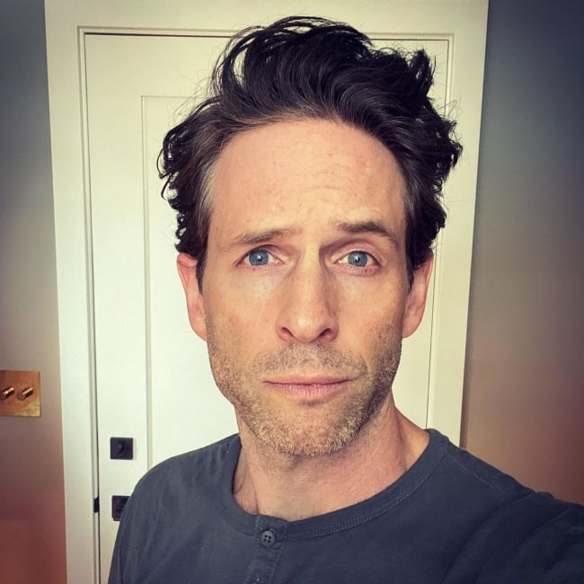 Glenn Howerton in May 2020 noticing his hair to be getting very big