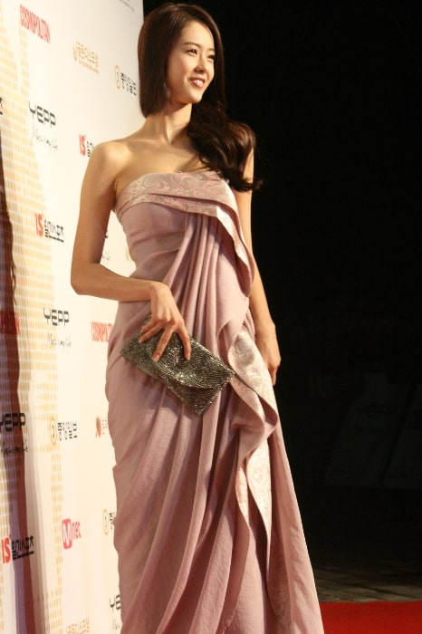 Go Ara as seen while posing for the camera at an event in December 2008