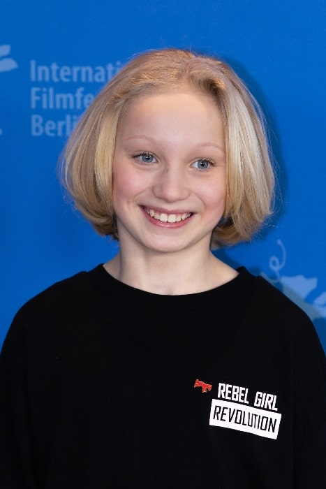 Helena Zengel as seen at the Berlinale 2019