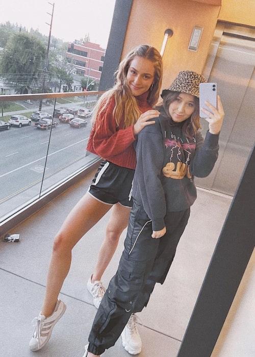 Jacqueline Scislowski as seen in a selfie that was taken with her friend Sofia Quinn in July 2020