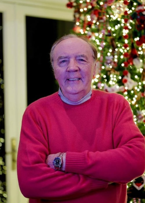 James Patterson as seen in an Instagram Post in November 2020