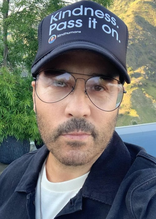 Jeremy Piven in an Instagram Selfie from May 2020