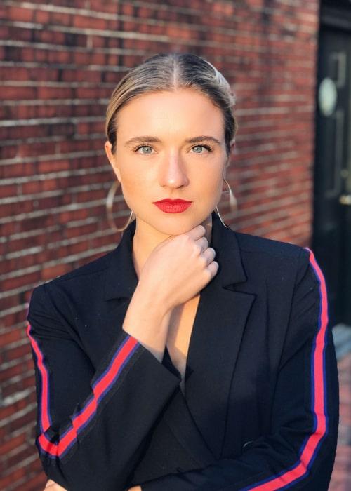 Kristie Mewis as seen in an Instagram Post in January 2018