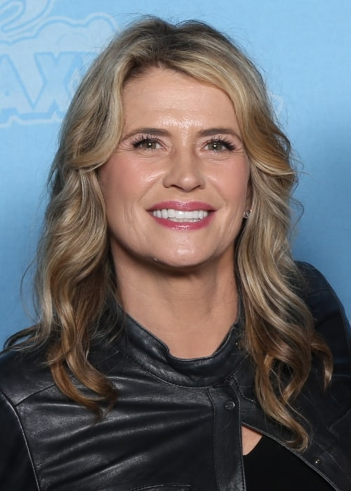 Kristy Swanson as seen at GalaxyCon Raleigh in 2019
