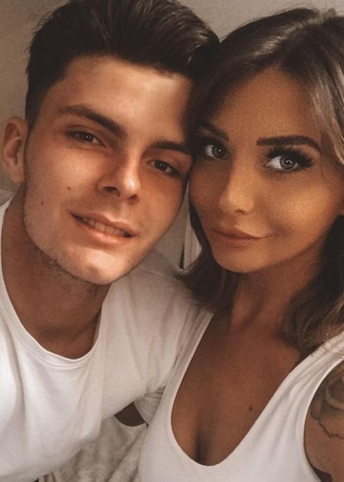 Laura Louise as seen in a selfie that was taken with her beau Alfie Lamming in November 2020