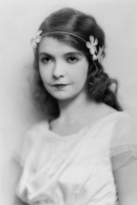 Lillian Gish in New York in 1922