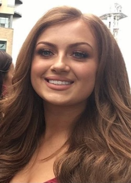 Maisie Smith pictured at the 2019 British Soap Awards in Salford