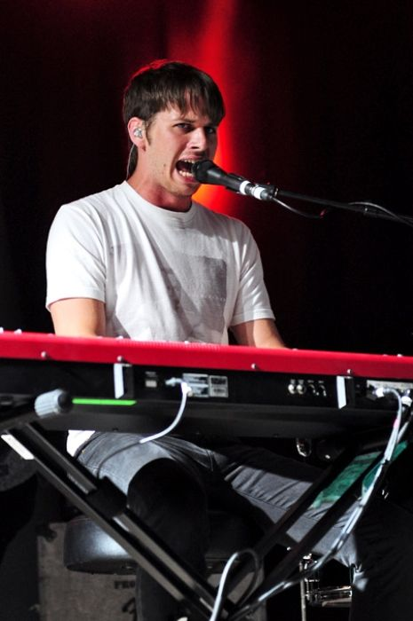 Mark Foster as seen at the Big Day Out Festival in 2012