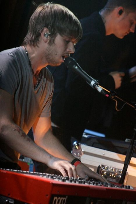 Mark Foster as seen onstage at the Bluebird Theater in Denver, Colorado