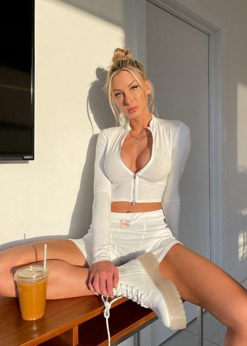 Marta Mielczarska as seen in a picture that was taken in Los Angeles, California in December 2020