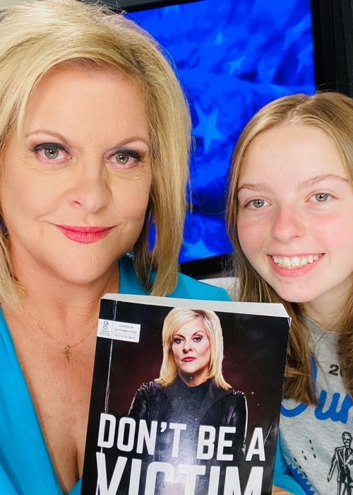 Nancy Grace, with her daughter, as seen in September 2020