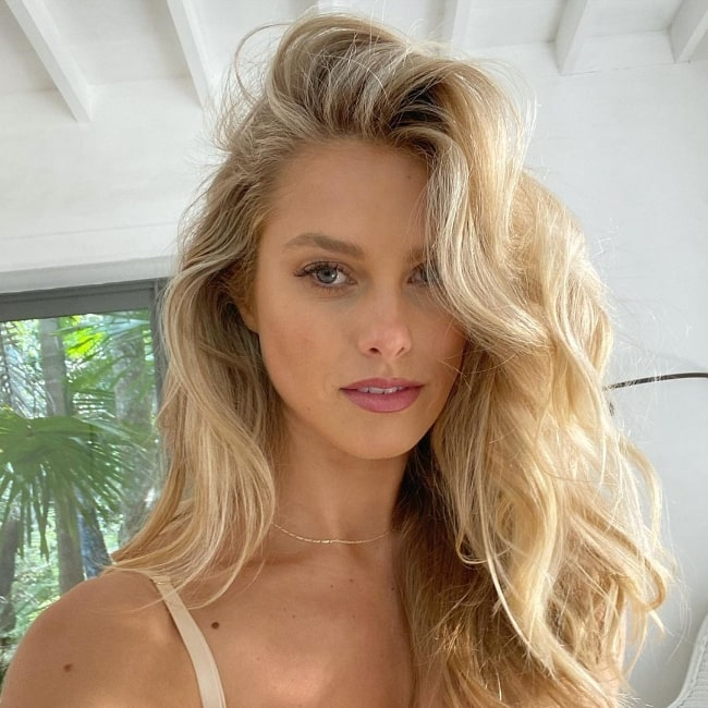 Natalie Roser as seen while taking a selfie in November 2020