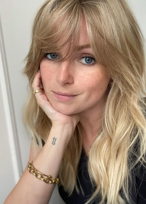 Nicola Millbank as seen while taking a selfie in July 2020 at George Northwood in London, England
