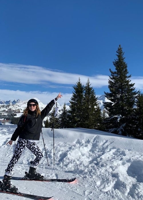 Phoebe Dynevor as seen while enjoying her time in Avoriaz, Rhone-Alpes, France in March 2020
