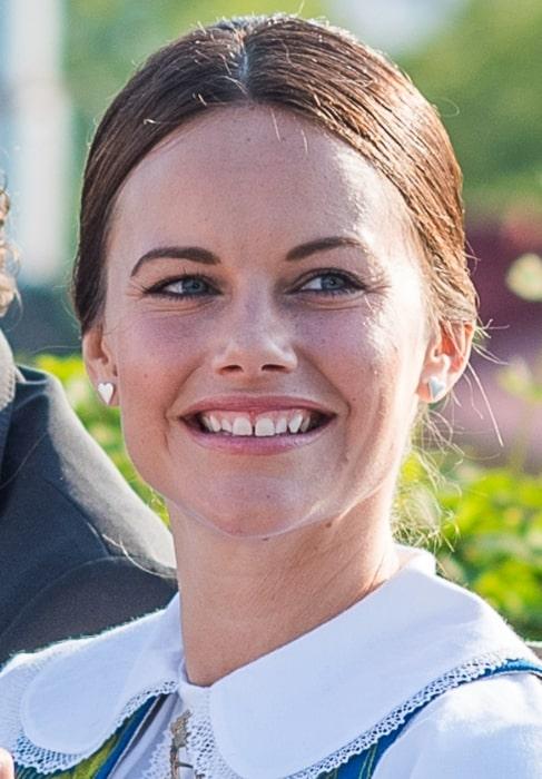 Princess Sofia, Duchess of Värmland as seen at the Swedish National Day June 2015