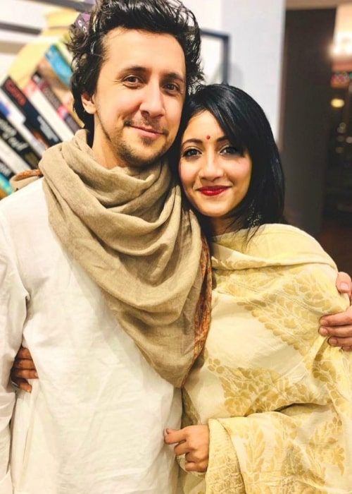 Priya Darshini and Max ZT, as seen in November 2020