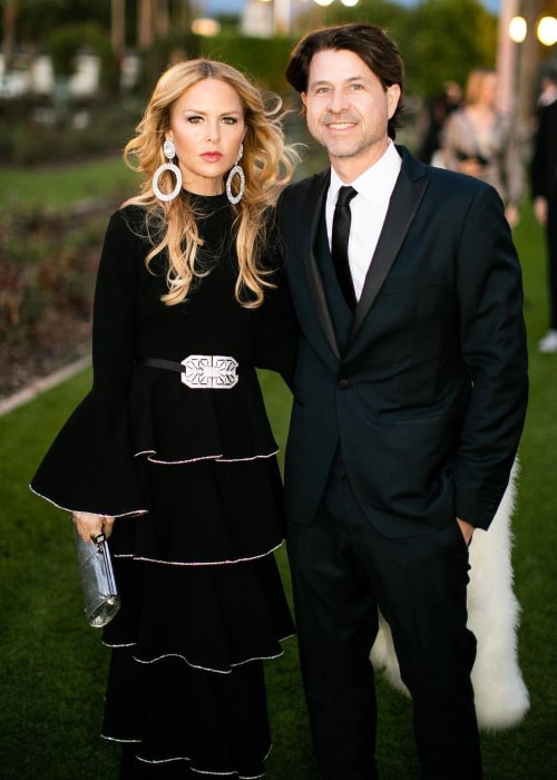 Rachel Zoe and Rodger Berman, as seen in November 2020