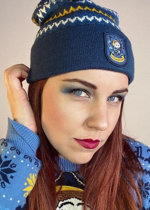 Rebecca Parham as seen in a selfie that was taken in November 2020