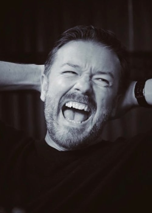 Ricky Gervais as seen in an Instagram Post in August 2018