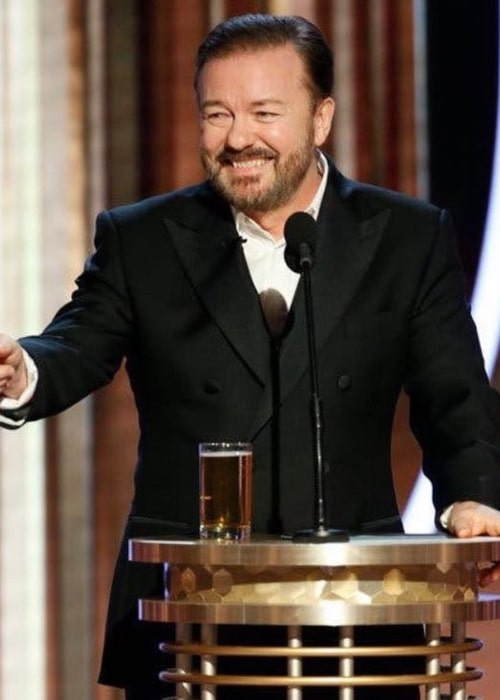 Ricky Gervais as seen in an Instagram Post in January 2020