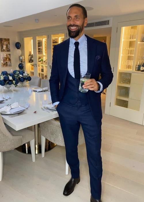Rio Ferdinand as seen in an Instagram Post in November 2020
