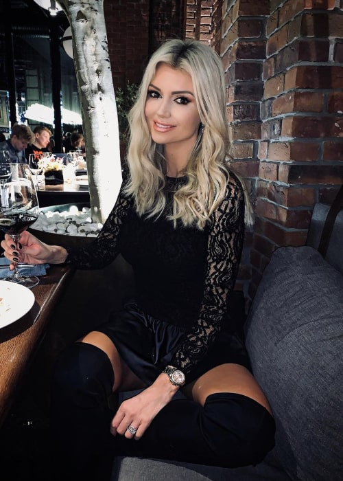 Rosanna Davison as seen in an Instagram Post in November 2019