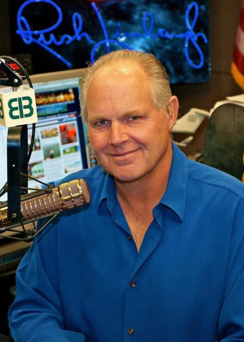 Rush Limbaugh as seen in an Instagram Post in October 2017