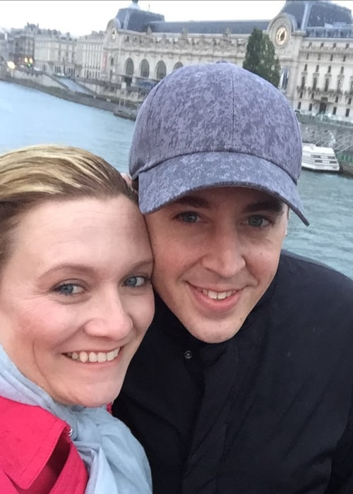 Sean Murray and Carrie James, as seen in May 2020