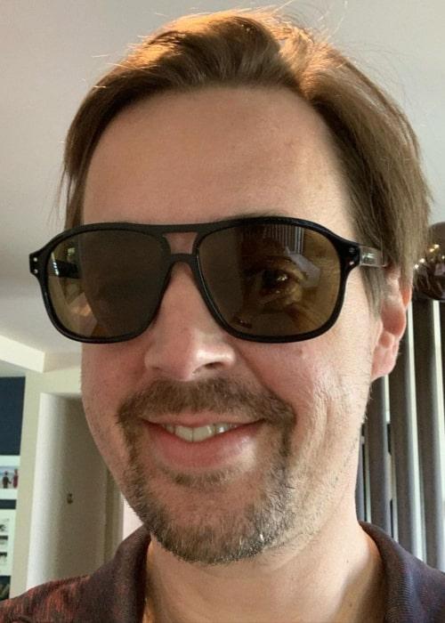Sean Murray in an Instagram selfie from July 2020