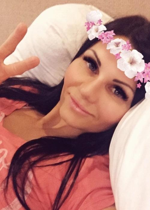 Shanna LeRoy as seen in a selfie that was taken in June 2017
