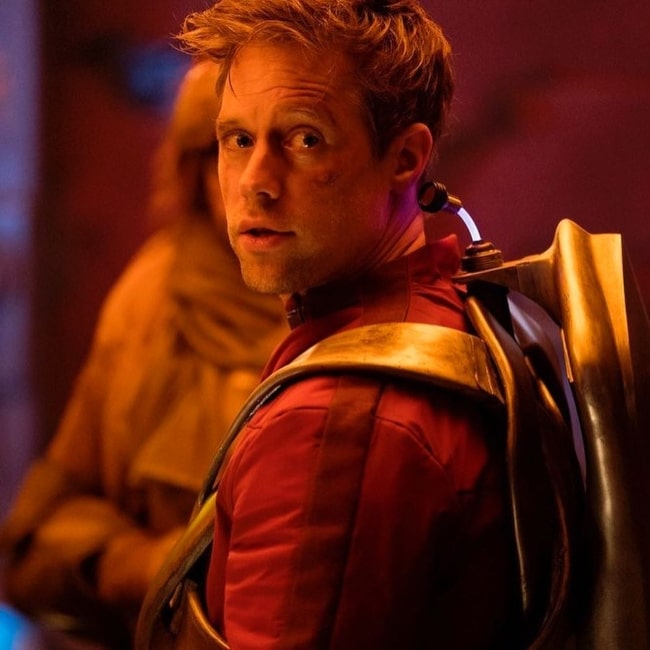 Shaun Sipos in a still from the television series Krypton in August 2019