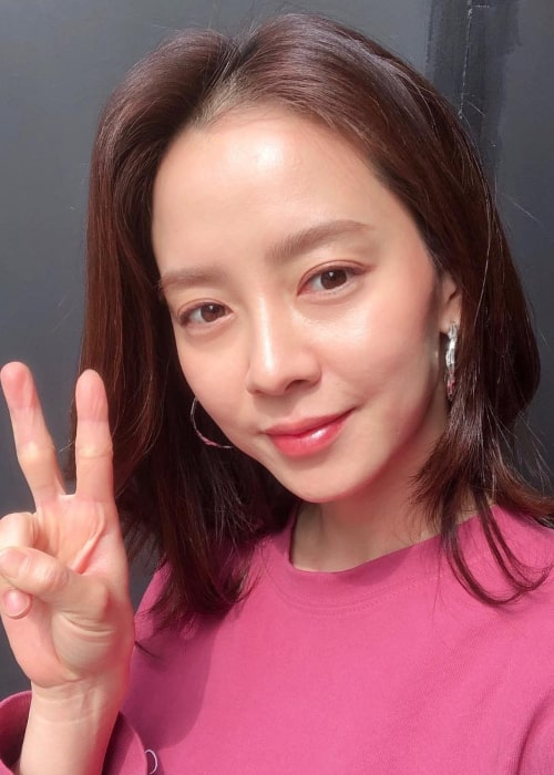 Song Ji-Hyo as seen in an Instagram Post in March 2019