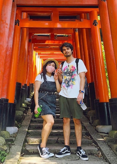 The Anime Man as seen in a picture with his beau Akidearest in July 2020