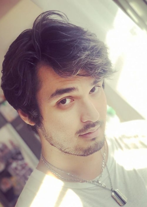 The Anime Man as seen in a selfie that was taken in June 2020
