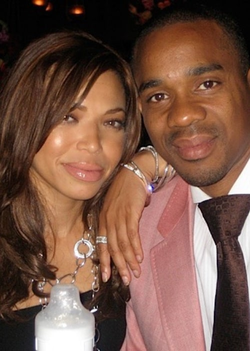 Tisha Campbell and Duane Martin, as seen August 2017